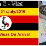 Uganda Visa Online