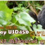 2017 Discounted gorilla Trekking Safari Holiday to Bwindi Forest