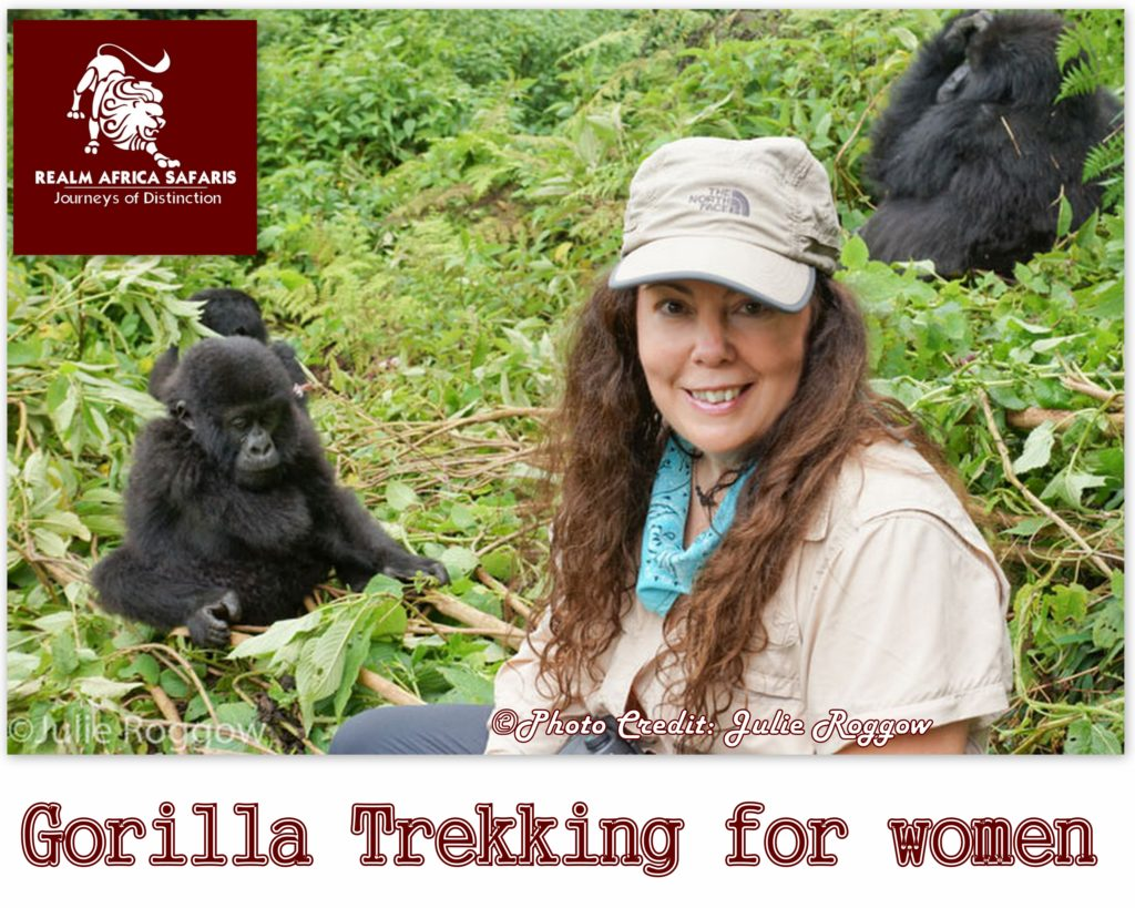 Gorilla trekking holidays for women