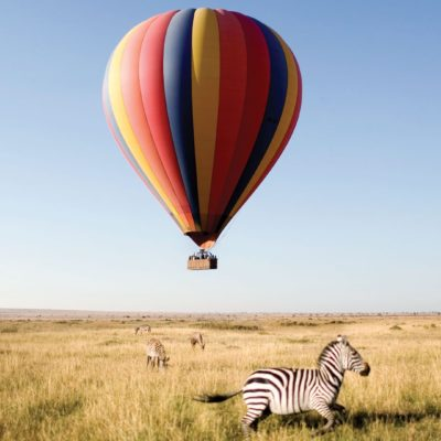Tanzania Safari - Hot Air Balloon Experiences