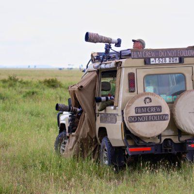 Filming In Serengeti NP