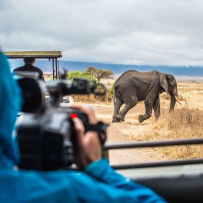 Filming In Tanzania