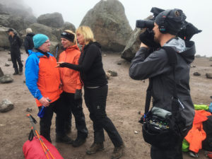Filming On Kilimanjaro | Realm Africa Safaris™ | Gorilla Safaris & Kilimanjaro Expeditions