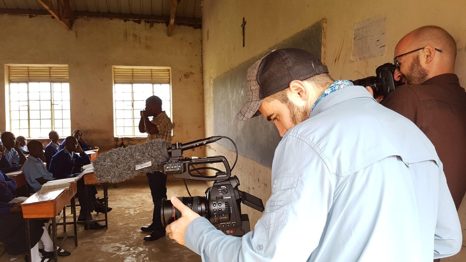 Filming In Uganda